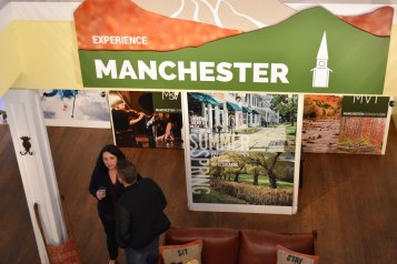 The Manchester Visitors Center boasts a friendly, knowledgable staff. Photo: Ann Archer.