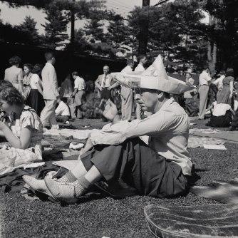 Photo by Erika Stone, 1947.