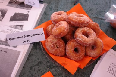 Turnip donuts, a festival favorite. Photo courtesy of Friends of the Wardsboro Library.