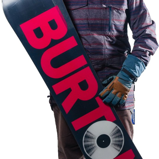 Burton men's Covert Jacket in Faded Denim/Motor City print. Dryride fabric features technical weatherproofing and breathable properties in a buttery soft yet bomber package. Thermolite insulation for lightweight warmth. $199.99. Burrows Specialized Sports 105 Main St., Brattleboro, Vt. 802-254-9430 burrowssports.com