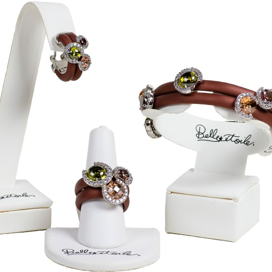 Trendy European designs featuring sterling silver, royal enamels, vibrant colors and white cubic zirconia. Starting at $190. Crown Jewelers 5 Cheshire Road, Suite 21, Pittsfield, Mass. 413-442-9073 crownjewelersinc.net