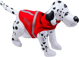 Corky's Overcollar™ Reflective Vests and Reflective Jackets are the safest, highest visibility protection for dogs and their owners on their walks. Unlike regular collars that are often hidden by hair or fur, the Overcollar™ uses 3M Scotchlite™ 360° enhanced visibility which can be seen up to 1,000 feet! Corky's Overcollars™ are weatherproof and are made from MiraFab™, a Fleece-like material that is fast drying, repels water and is machine washable. The vests and jackets are weatherproof and are made from MiraFab™, a comfortable, Fleece-like material that is wind resistant, repels water, fast drying, machine washable and easy to care for. One Stop Country Pet Supply 648 Putney Road, Brattleboro, Vt. 802-257-3700 onestopcountrypetsupply.com