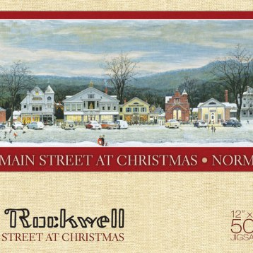 Own a high-quality framed print of this iconic painting from Norman Rockwell Museum's collection. Beautifully framed, double matted, 2 sizes. Also available in 500 piece puzzle. Framed print starting at $129.95. Puzzle: $18.95. The Norman Rockwell Museum Store 9 Glendale Road, Stockbridge, Mass. 413-931-2237 store.nrm.org