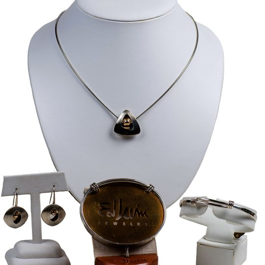 """""""Distinctively timeless"""" is the ever popular Ed Levin jewelry, handcrafted in sterling silver, 14 karat gold or two-tone, with unique designs & styles different than any other. Starting at $100. Crown Jewelers 5 Cheshire Road, Suite 21, Pittsfield, Mass. 413-442-9073 crownjewelersinc.net"""