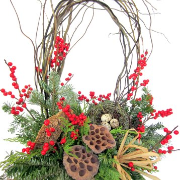 Bring the beauty of the season indoors with this natural fresh arrangement. Fragrant evergreens hand gathered in Vermont fill a rustic birch bark container. Local vibrant red winterberries and woodsy accents are inspired by the colors and textures of winter in the Green Mountains. This stunning and long-lasting gift will bring warmth and light to your cold winter days. Perfect for the nature lover on your holiday list. $75. The Tuscan Sunflower318 North St., Bennington, Vt.802-447-4900thetuscansunflower.net