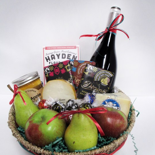 Is there a locavore, a cheese fanatic or a chocolate lover on your list? How about someone who's just plain hard to buy for? From wine, seasonal fruit and teas to cozy woolens, candles and hand-made jewelry, Wild Oats creates beautiful custom gift baskets that anyone would love to receive! Prices range from $50-$200.Wild Oats Market320 Main St., Williamstown, Mass.413-458-8060 wildoats.coop