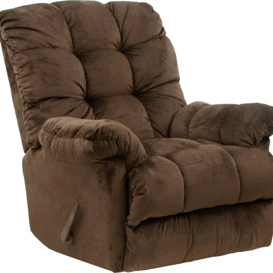 The Nettles Chaise Rocker recliner features a three-speed massage and multi level heat. Available in three durable micro-suede fabrics. Button tufted back and overstuffed chair seating comfort. $549. Solomon's Furniture 655 Cheshire Road, Lanesboro, Mass. 413-445-8800 solomonsfurnitureoutlet.com