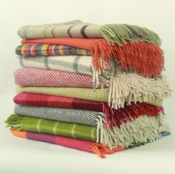 Luxurious blankets and throws from the world's finest mills and heritage companies bring a touch of warmth and a flash of the exceptional to any home. $100-$300. MacKimmie Co. 67 Church St., Lenox, Mass. 413-637-9060 mackimmieco.com