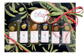 A perfect gift for those who help make your life a little better throughout the year! Delicious, healthy, and a great way to enhance your cooking, with several combinations to choose from. $34. Oliva! Gourmet Olive Oils & Vinegars 27 A Housatonic St., Lenox, Mass. 518-879-6646 olivaevoo.com