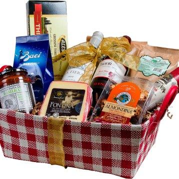 Choose from a wide array of elegant gift baskets bursting with fine wines and gourmet goodies! Ready to go or custom-made for you, with delivery & shipping available. The perfect way to give special gifts they'll remember for years to come! Starting at $40. Spirited Wines 444 Pittsfield Road, Lenox, Mass. 413-448-2274 spirited-wines.com