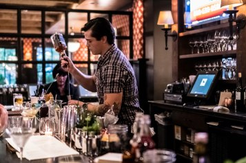 Lead bartender Dylan Niedecker crafts a unique cocktail lists that changes with the seasons for The Copper Grouse.