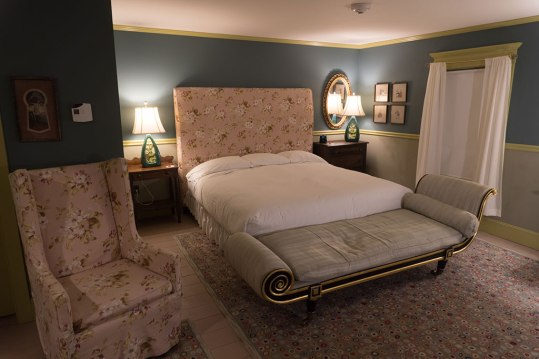 While more vintage rooms can be found in the Main Inn, the Maple Glen guest house, pictured here, features a number of modern amenities. Photo: George Forbes