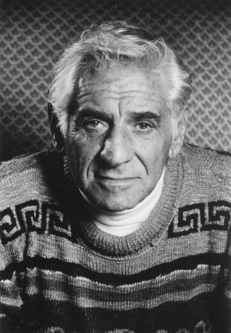 Leonard Bernstein undated headshot. The Carson Office photo.