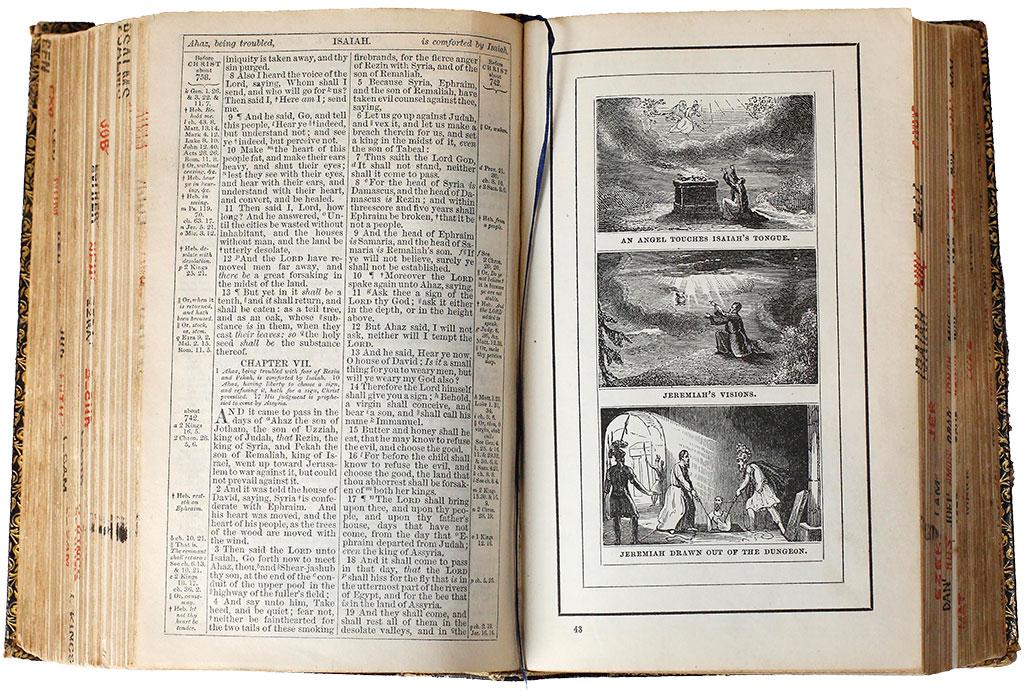 Abraham Lincoln's King James Bible