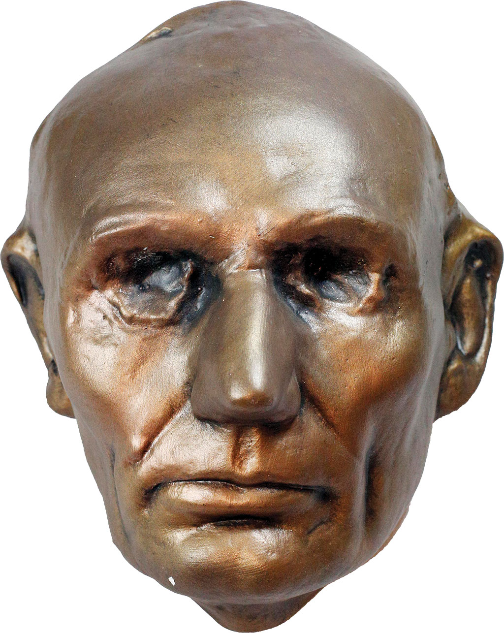 Abraham Lincoln life mask from the Lincoln family collection