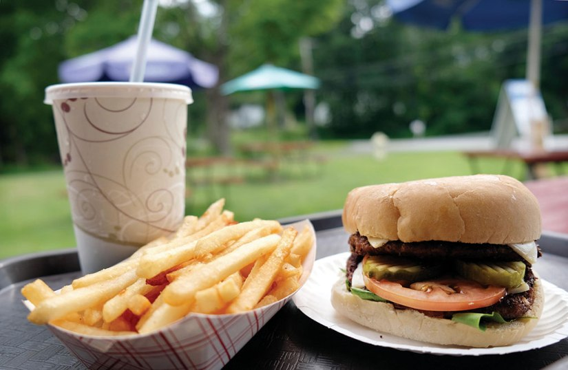 The bestseller at Snow's Arlington Dairy Bar is the Barn Burger. Berkshire Eagle File Photo