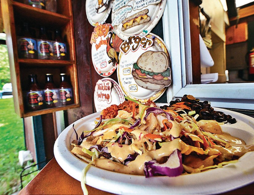 Fish tacos from Top of the Hill Grill. Brattleboro Reformer File Photo