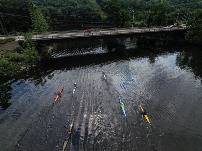 The Brattle Paddle will take place on June 30 in Brattleboro. Brattleboro Reformer FIle Photo