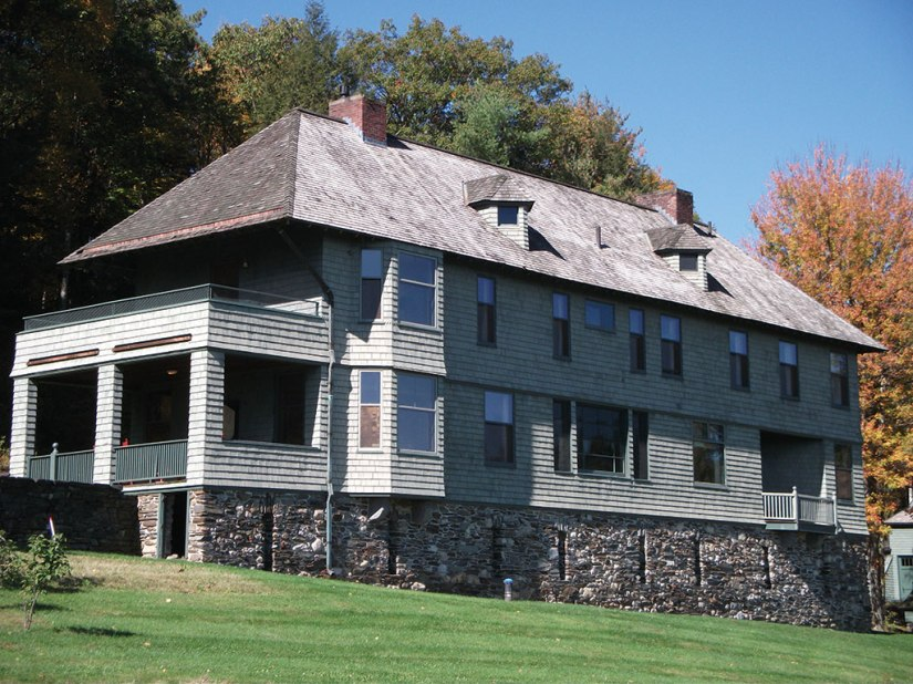 Rudyard Kipling built his Vermont home in the shape of a ship. Photo: Kevin O'Connor
