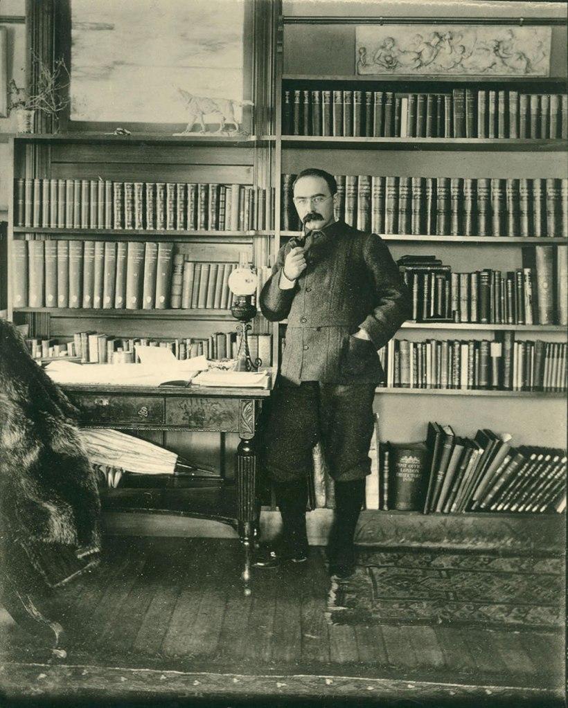 Rudyard Kipling spent plenty of time reading and writing at Naulahka. Photo provided by Landmark Trust USA.