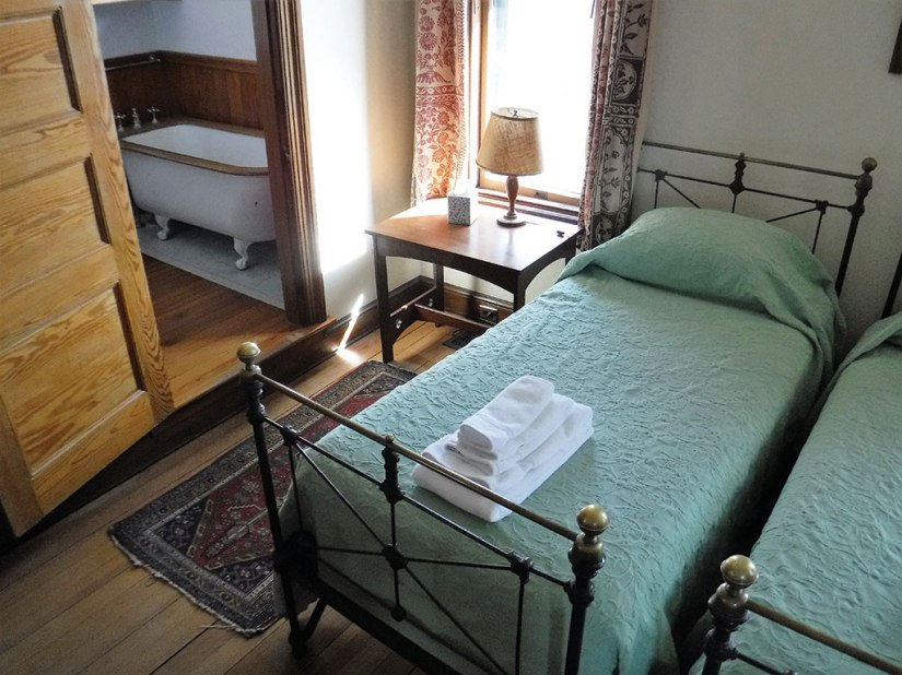 One of Naulakha's second floor bedrooms. Photo: Kevin O'Connor