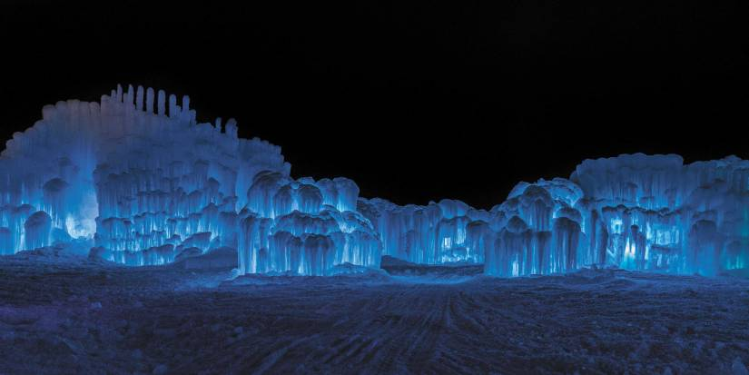 Ice Castles New Hampshire returns to North Woodstock, N.H., for its sixth season.