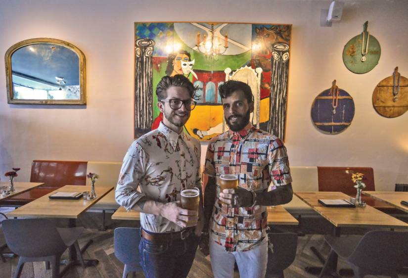 Remy Walker and Alain Martinez, owners of Wunderbar, had a hard time finding the right place to hang out. So they built it.